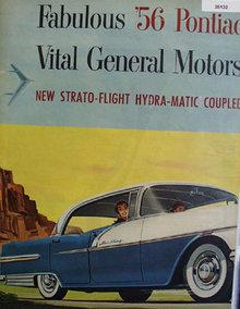 General Motors 56 Pontiac 1955 Ad.