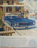 60 Pontiac Wide Track 1959 Ad.