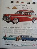 Studebaker Pinehurst, Pelham, Parkview 1956 Ad.