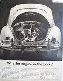 Volkswagen Rear Engine 1959 Ad