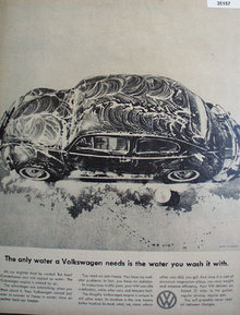 Volkswagen Air Cooled 1959 Ad