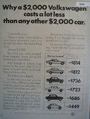 Volkswagen Beetle Car 1972 Ad