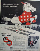 AC Spark Plugs General Motors 1955 Ad