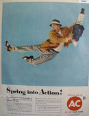 AC Hot Tip Spark Plugs 1958 Ad