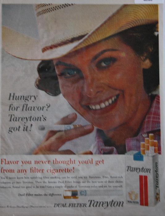 Tareyton Dual filter Cigarette 1962 Ad