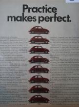 Volkswagen Bugs 1970 Ad