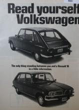 Renault 16 Car 1970 Ad.