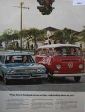 Volkswagen Station Wagon 1970 Ad