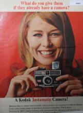 Kodak Instamatic Cameras 1968 Ad