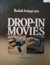 Kodak Drop in Movies 1970 Ad
