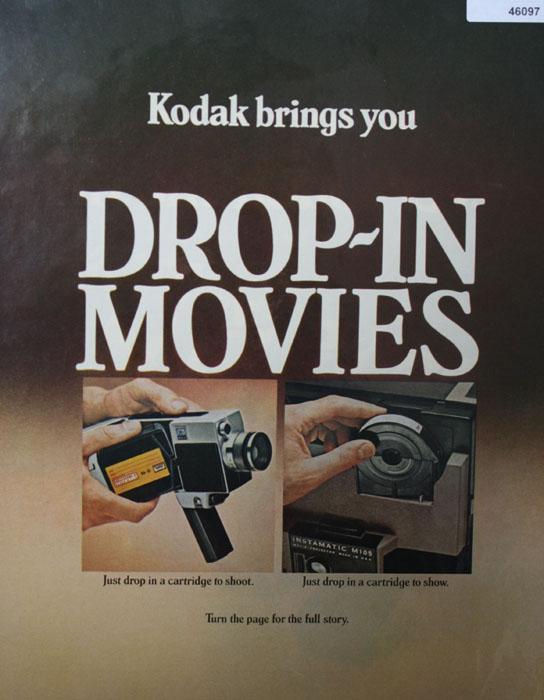 Kodak Drop in Movies 1970 Ad