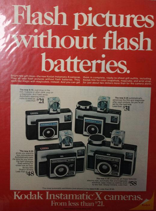 Kodak Instamatic X 15 Camera 1970 Ad