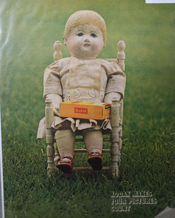 Kodak film 1970 Ad.