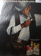 Marlboro Red Or Longhorn 100s Cigarettes 1970 Ad.
