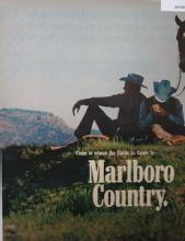 Marlboro Reds or Longhorn 100s 1970 Ad