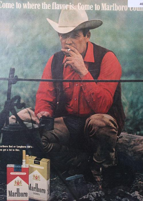 Marlboro Country 1970 Cigarette Ad
