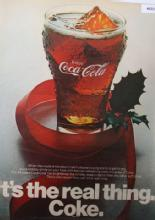 Coca Cola Real Thing 1970 Ad