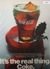 Coca Cola Real Thing 1970 Ad.