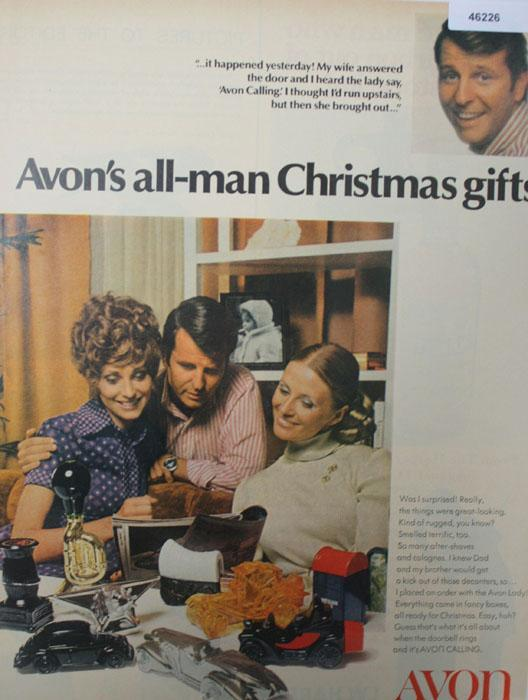 Avon All Man Gifts 1970 Ad