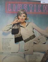 Revlon Lipstick City U.S.A. 1970 Ad.