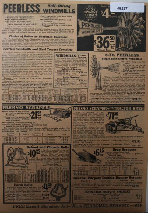 Sears Farm Related 1933 Ad