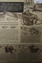 Sears Chain Saws 1967 Ad.