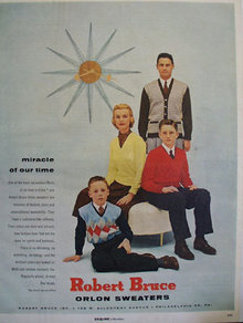 Robert Bruce Orlan Sweaters Miracle Ad 1956