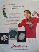 Jantzen Christmas Ad 1951