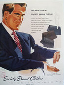 Society Brand Clothes Just How Good Ad 1949
