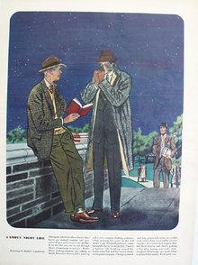 Campus Night Life Garments Ad 1947