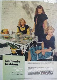 California Fashions Yvonne de Carlo Ad 1947