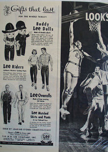 Lee Company Christmas Ad 1951