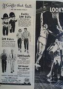 Lee Company Christmas Ad 1951