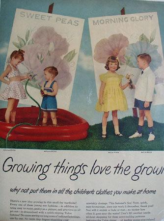 Talon Fastener Growing Things Ad 1951