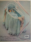 Talon Fastener Bassinet Cover Ad 1951