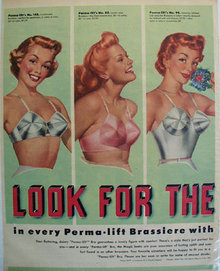 A Stein Co Perma Lift Bra Look Ad 1951