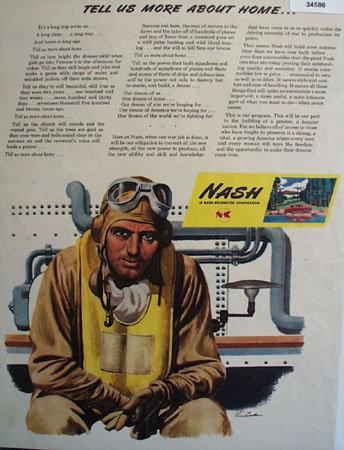 Nash Kelvinator Corporation 1944 Ad