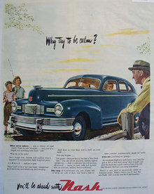 Nash Kelvinator Motor Division 1947 Ad