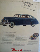 Nash Great Cars Since 1902 1948 Ad