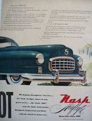Nash Airflyte Aerodynamic Dream 1948 Ad.
