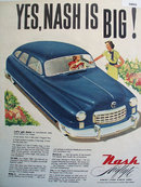 Nash Airflyte Great Cars Since 1902 1949 Ad