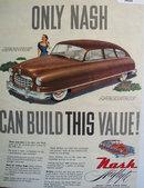 Nash Airflyte Hudec Lucas 1949 Ad