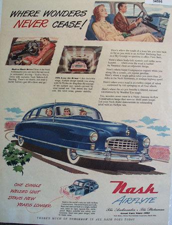 Nash Motors Division 1950 Ad