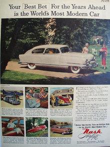 Nash Kelvinator Corp. Motors Division 1951 Ad