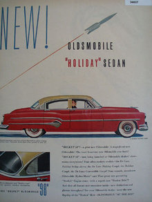 Oldsmobile Holiday Sedan 1951 Ad