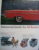 American Motors 65 Rambler 1964 Ad
