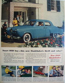 Studebaker Smart Buy 1950 Ad