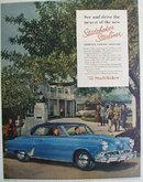Studebaker Starliner 1952 Ad