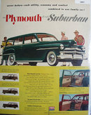 Plymouth All Metal Suburban 1950 Ad