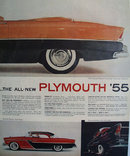 Plymouth Belvedere Convertible 1955 Ad